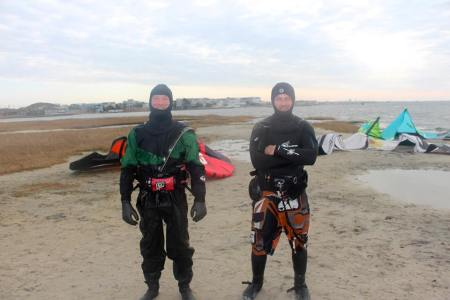 rob and I,11-30-14 LBI