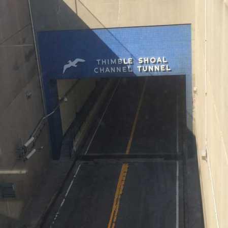 Thimble Shoal sign